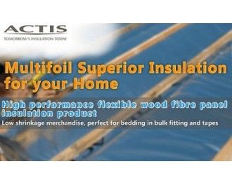 Actis Multifoil Insulation Multilayer Reflective Membranes