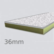 36mm Cellecta Hexatherm XCPL High Impact Faced Thermal Laminate Board for Car Park Soffits