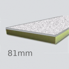 81mm Cellecta Hexatherm XCPL High Impact Faced Thermal Laminate Board for Car Park Soffits