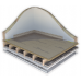 26mm Cellecta Deckfon Chip 26T Acoustic Overlay Board