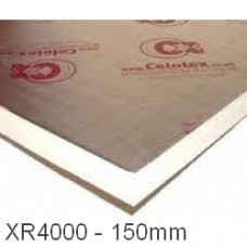 150mm Celotex XR4000 PIR Insulation Board