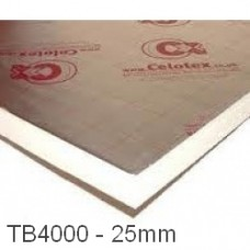 25mm Celotex TB4000 PIR Insulation Board