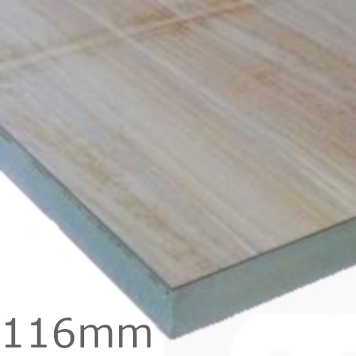 116mm Celotex Td4000 Pir Insulation Board With Plywood