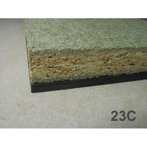 Isocheck 23c concrete floor acoustic board acoustic for Concrete floor insulation