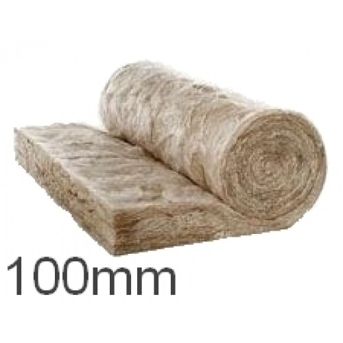 100mm knauf earthwool acoustic insulation roll split for Mineral fiber insulation r value