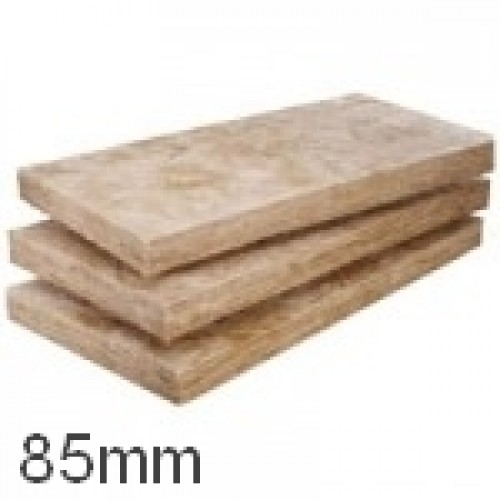 85mm dritherm 37 standard cavity slab knauf glass for Mineral wool r value
