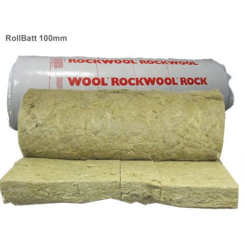 100mm rockwool rollbatt loft insulation rock wool insulation for What is rockwool insulation