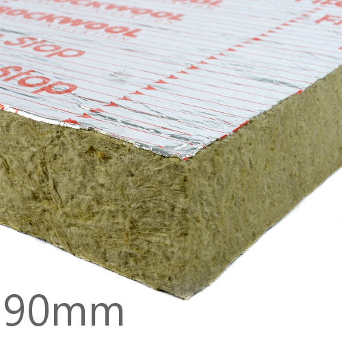 90mm Rockwool Sp120 Firestop Cavity Slab