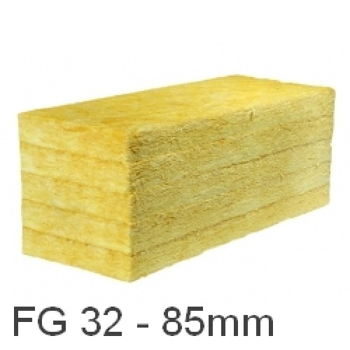 85mm ursa 32 cavity insulation batt glass mineral wool for Insulation batt sizes