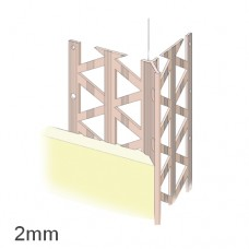 2mm PVC Render Only Corner Bead (pack of 25).