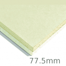 77.5mm Xtratherm XT/TL Thermal Liner Dot and Dab (65mm PIR Insulation bonded to 12.5mm Plasterboard)