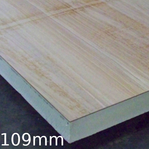 109mm Plydeck Xtratherm Pir Insulation Bonded To Osb Board