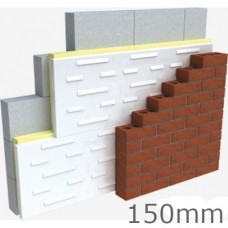 150mm Thin-R CT/PIR Cavity Therm Full Fill Insulation Xtratherm (pack of 4)