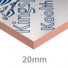 20mm Kooltherm K8 Phenolic Cavity Board Kingspan (pack of 25)