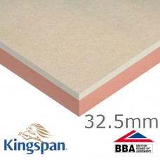 32.5mm Kingspan Kooltherm K18 Insulated Plasterboard - pack of 24
