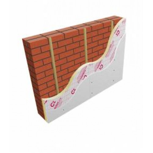 40mm Celotex GS5040 PIR Insulation Board With 9.5mm Plasterboard (pack Of  22)
