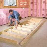 Construct a Timber Frame Wall