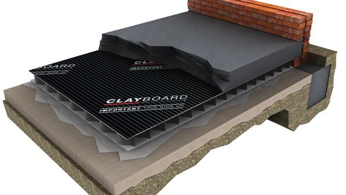 Dufaylite Residential Clayboard Void Former