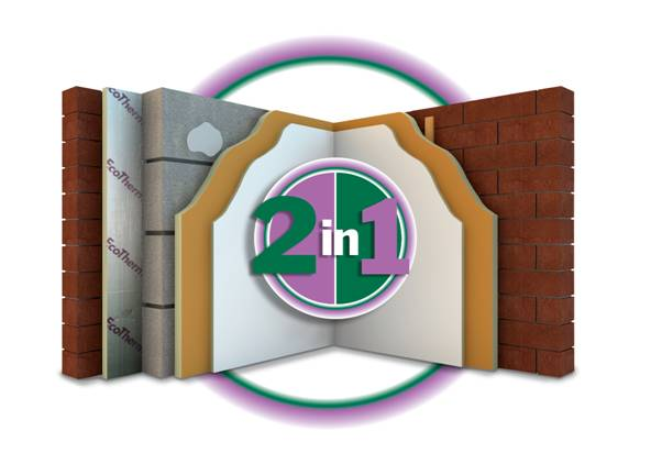 80mm EcoTherm EcoLiner PIR Insulated Plasterboard