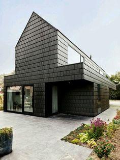 External Tile Cladding Timber