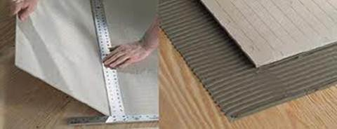 Hardiebacker Cement Boards Installation Instructions