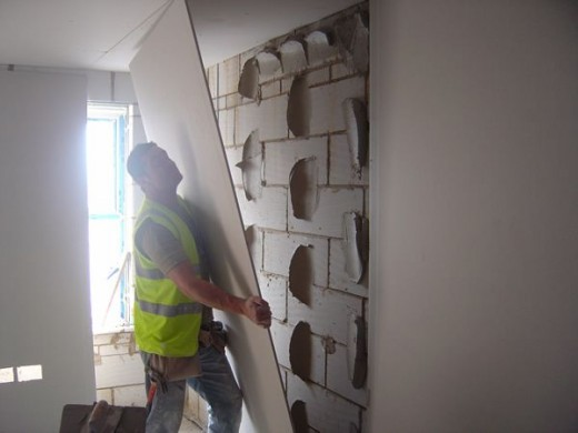 Plasterboard Dot And Dab