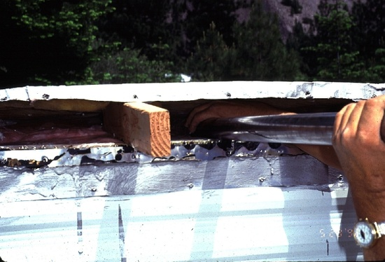 Mobile Home Roof Insulation