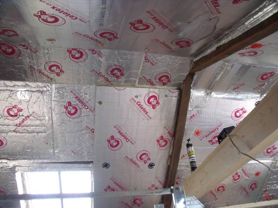 Roof Insulation With Celotex Ga 4000 Insulation Board