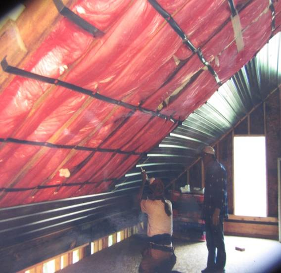 Why insulate your metal roof roof insulation publicscrutiny Images
