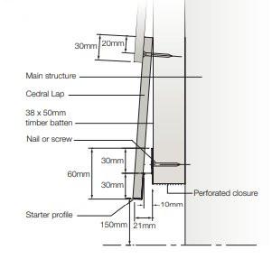 Timber Cladding Corner Detail