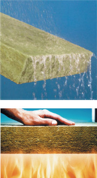 Rock wool insulation mineral wool insulation for Rockwool insulation properties