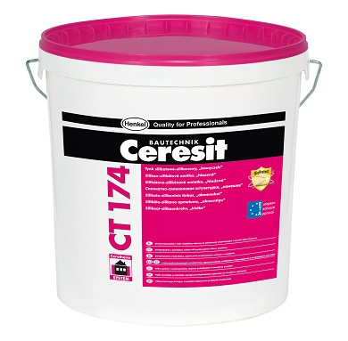 Ceresit CT174 Silicate-Silicone Render 2mm grain
