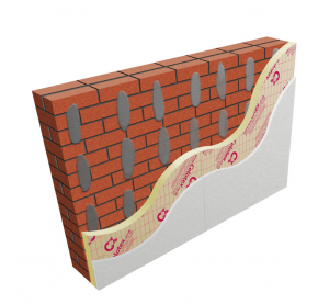 40mm Celotex GD5040 PIR Insulation Board with 12.5mm Plasterboard (pack of 22)