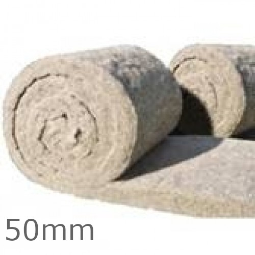 50mm ThermaFleece CosyWool Roll 570mm wide (pack of 2)