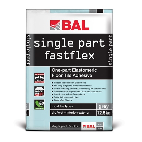 BAL Single Part Fastflex - Sound-Deadening Floor Tile Adhesive