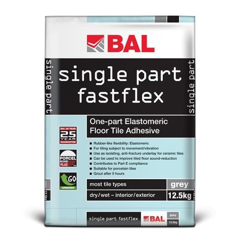 BAL Single Part Fastflex - Sound-Deadening Floor Tile Adhesive