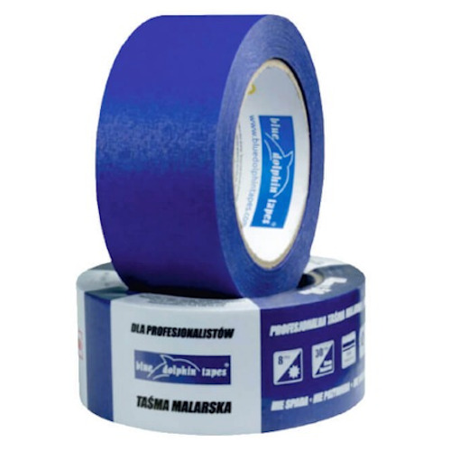 25mm Blue Painter's Tape Blue Dolphin - 50m roll