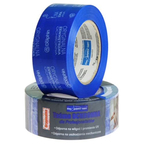 48mm External Protection PVC Reinforced Tape Blue Dolphin - 25m roll
