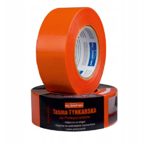 38mm Orange Plastering Tape Blue Dolphin - 50m roll
