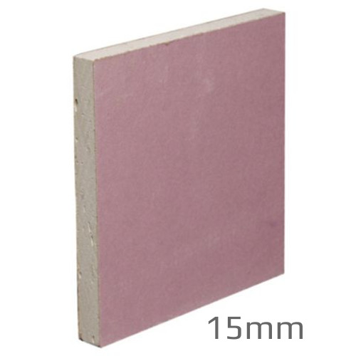 15mm gyproc fireline mr plasterboard 1200x3000mm fire for Moisture resistant insulation