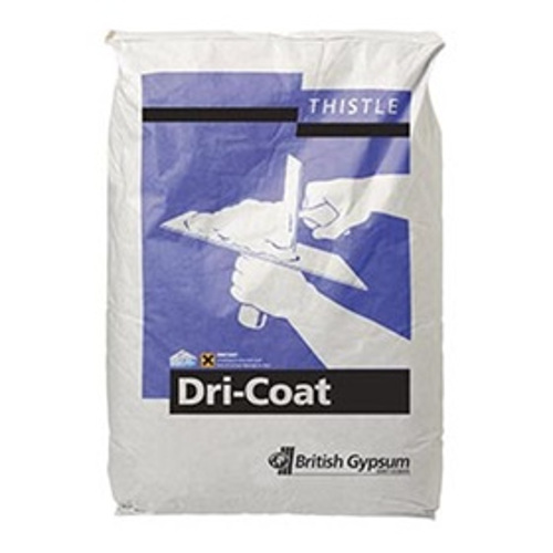 British Gypsum Thistle Dri-Coat Cement-based Renovating Plaster- 25kg - pallet of 40