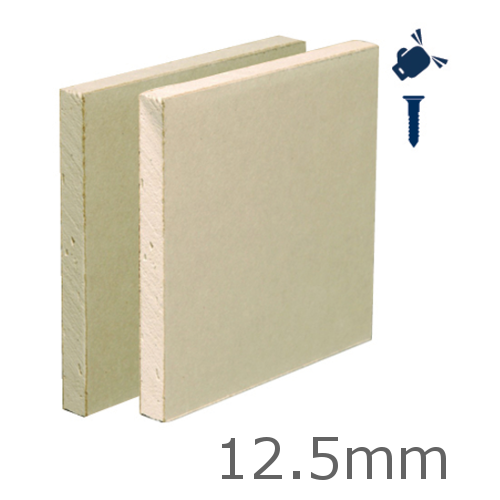 12.5mm Gyproc Habito High-Strength Plasterboard - 1200mm x 2400mm
