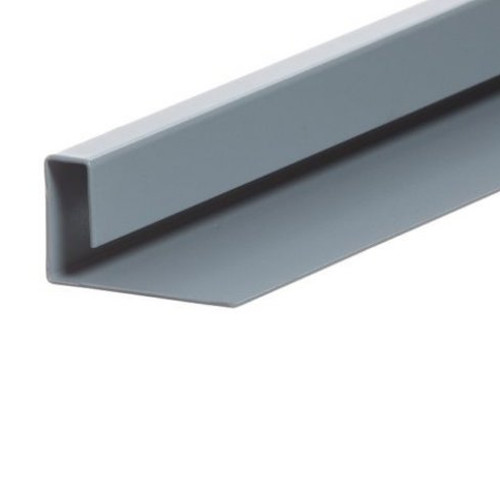 Cedral Lap Aluminium End Profile - End 45mm - 3m length