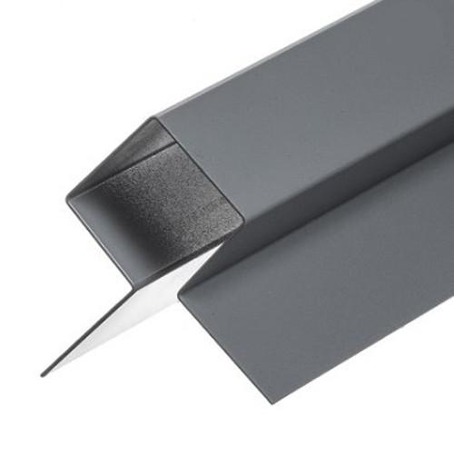 Cedral Lap Symmetric Aluminium Corner Profile - 3m length