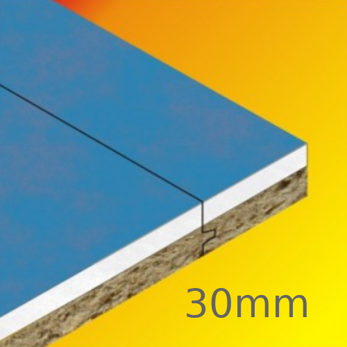 30mm Cellecta Fibrefon HiGYP 30TM Acoustic Wall Lining Board