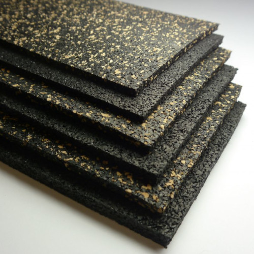 3mm Cellecta Rubberfon Impact Acoustic Underlay Roll - High Density Under Screed Resilient Layer