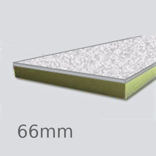66mm Cellecta Hexatherm XCPL High Impact Faced Thermal Laminate Board for Car Park Soffits
