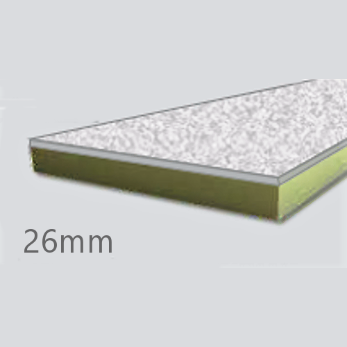 26mm Cellecta Hexatherm XCPL High Impact Faced Thermal Laminate Board for Car Park Soffits