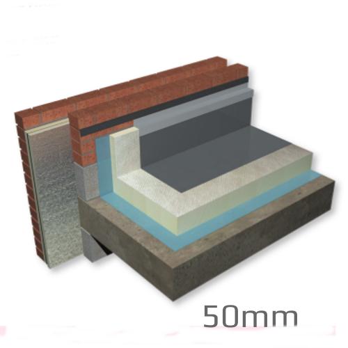 50mm Celotex Crown-Bond Flat Roof Board (pack of 11) -pallet of 12 packs