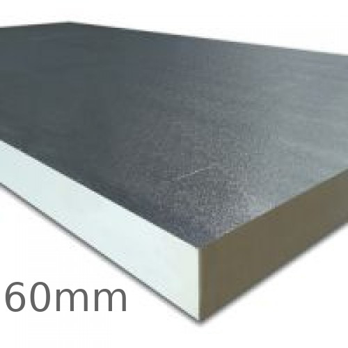 60mm Celotex FR5000 Fire Resistant PIR Insulation Board (pack of 7) - pallet of 6 packs